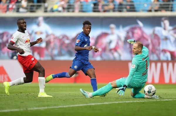 19-Year-Old Rabbi Matondo Bagged His First Goal for Schalke This Weekend
