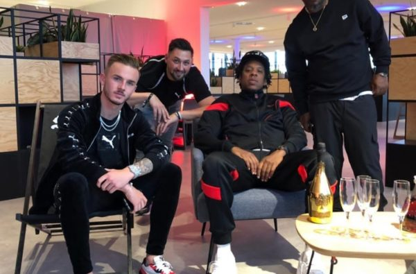 James Maddison and Nikita Parris Link Up with Jay-Z at PUMA Event