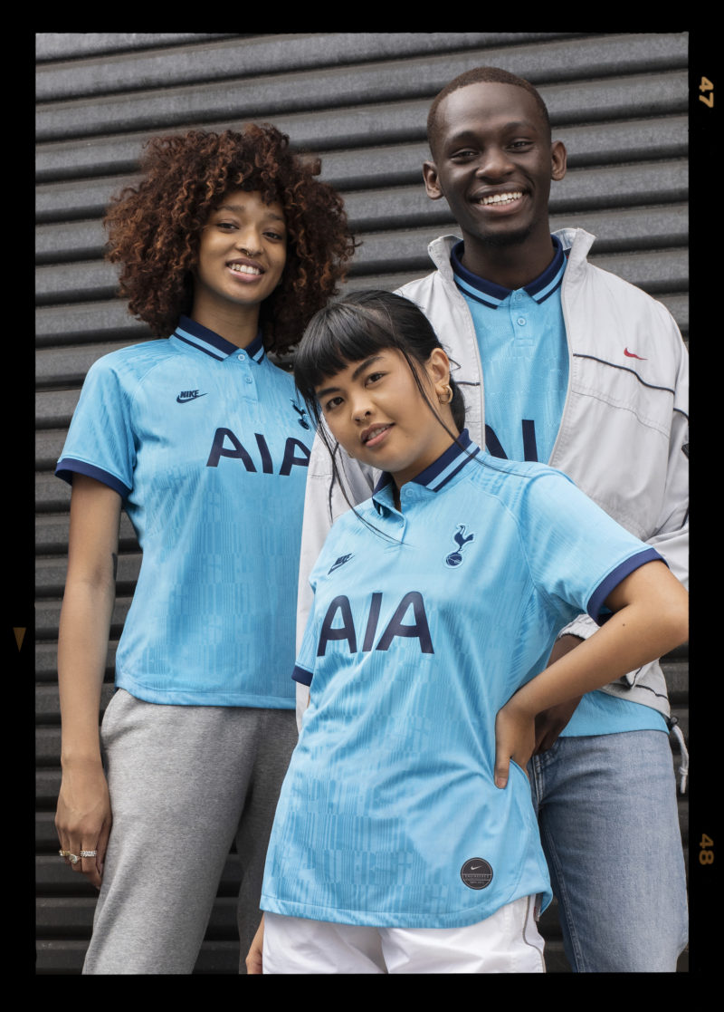 reputable site 10c95 c1ed2 Nike Link Up with AJ Tracey to Launch Spurs' Wavey 2019/20 ...