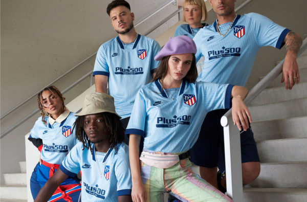 Nike Drop More 90s-Inspired Heat With Atletico Madrid's Icy 2019/20 Third Kit