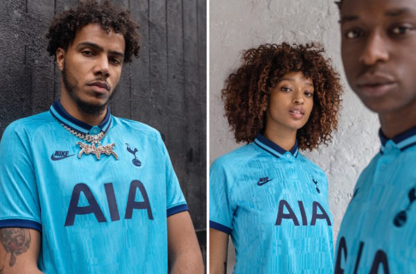 Nike Link Up with AJ Tracey to Launch Spurs' Wavey 2019/20 Third Jersey