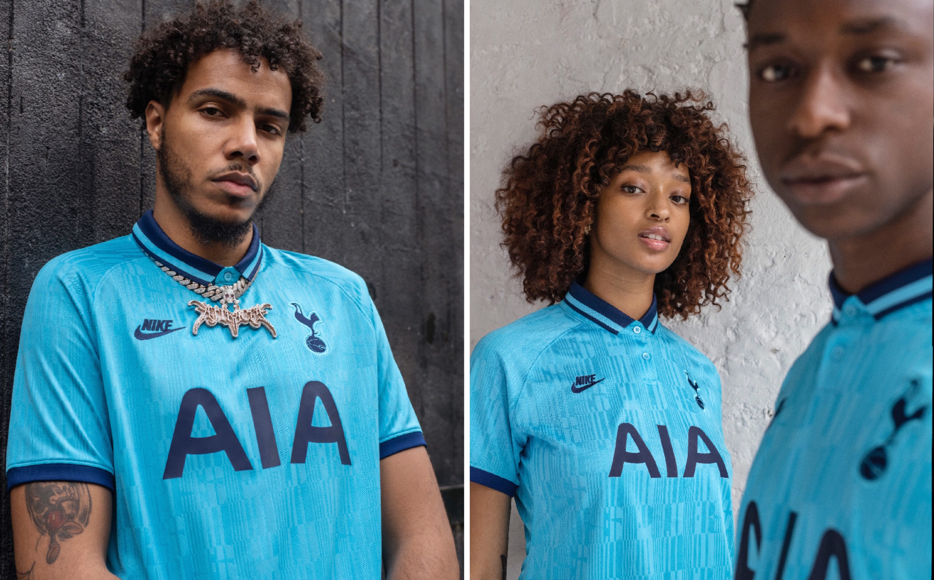 reputable site c379a 1e38f Nike Link Up with AJ Tracey to Launch Spurs' Wavey 2019/20 ...