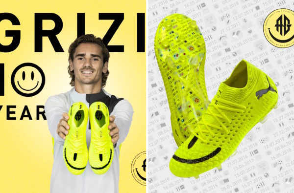 Antoine Griezmann Links up with PUMA to Co-Design a Boot Celebrating 10 Years in the Game
