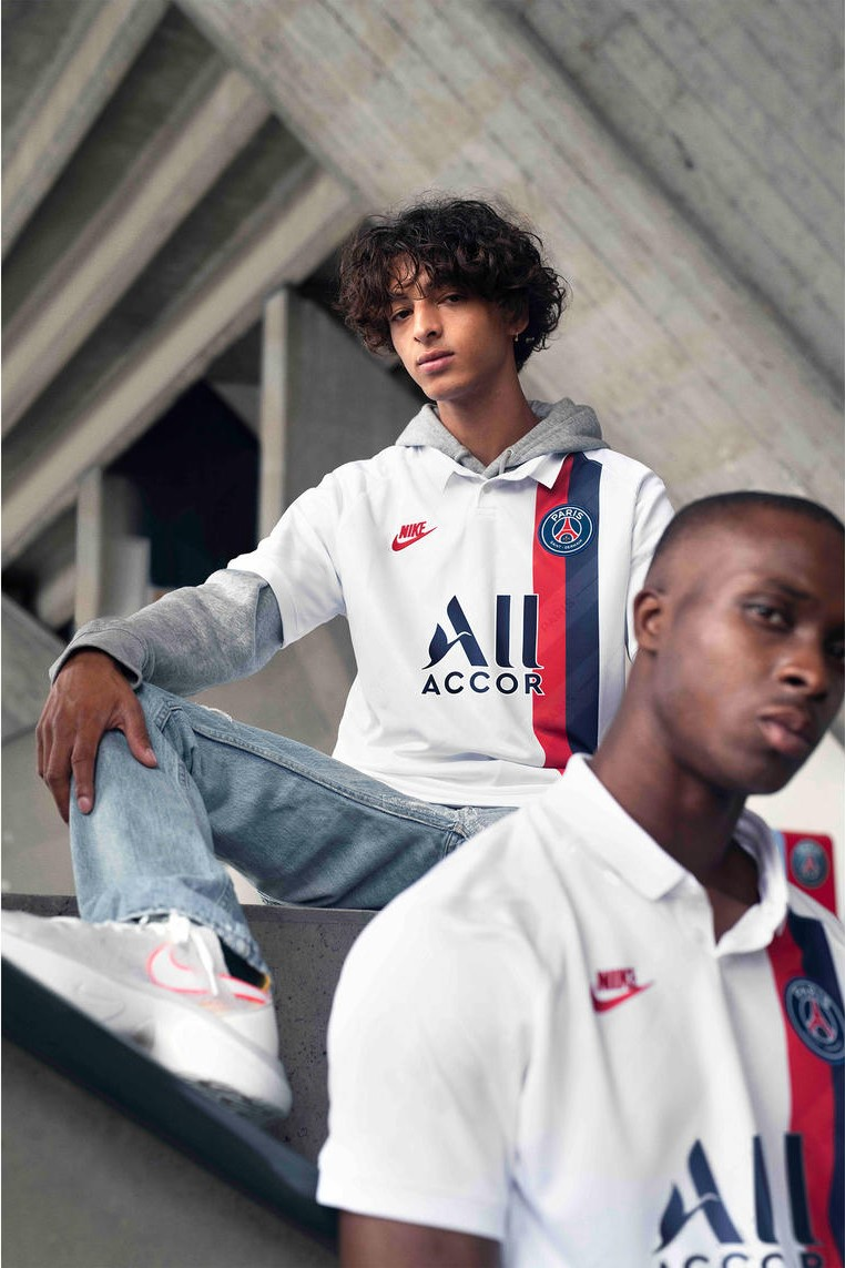 best sneakers 73277 5a0c0 Nike Drop Off PSG's Clean Throwback Third Shirt and Wavey ...