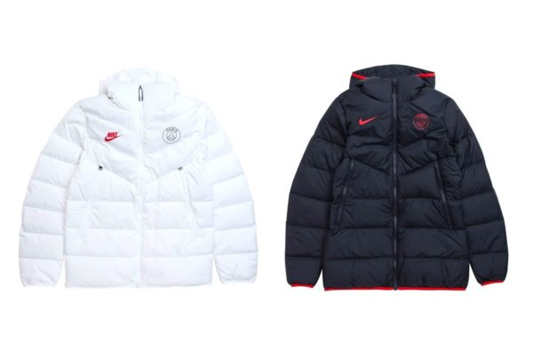 Nike Bless Paris Saint-Germain with Two Hard Windrunner Puffer Jackets