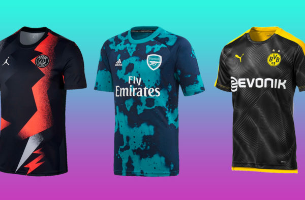 The 15 Drippiest Pre-Match Jerseys of the 2019/20 Season