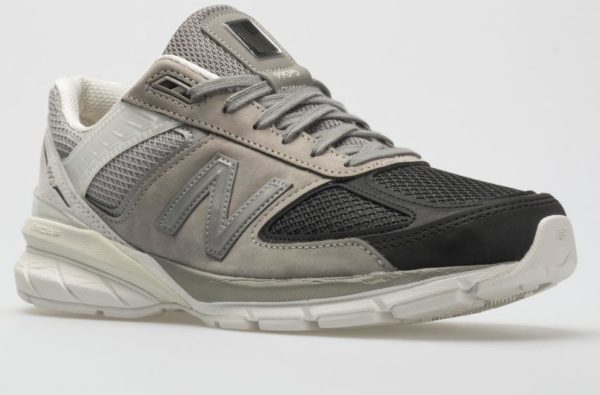 "New Balance Dress The 990 V5 in a Cold ""Black/Marblehead"" Colourway"
