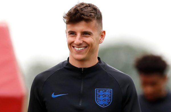 Mason Mount is Set to Be Handed Debut Start for England Against the Czech Republic