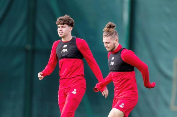 Harvey Elliott and Neco Williams Set to Make Anfield Debuts Against Arsenal in the Carabao Cup