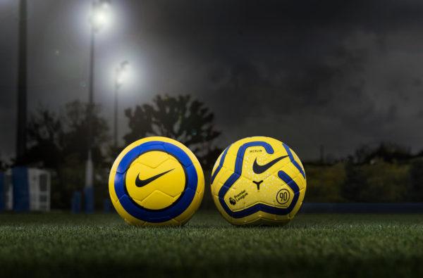Nike Brings Back Total 90 on New Hi-Vis Merlin 19/20 Premier League Ball
