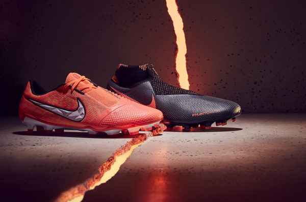 Nike Unleash Phantom Fire Boot Pack for the Game's Elite Players