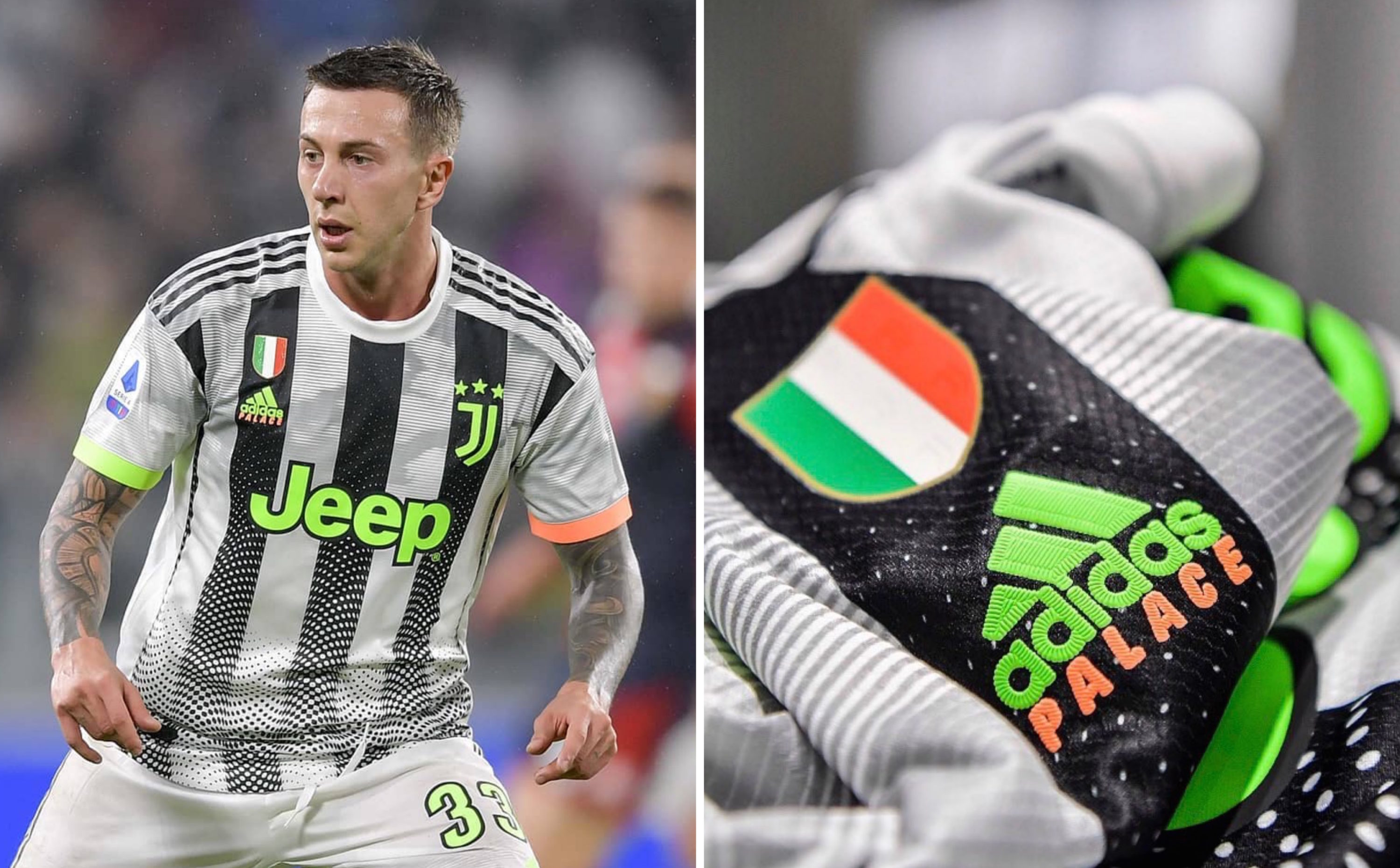 Juventus Finally Debuted Its Game Changing Collaboration With Palace And Adidas Last Night
