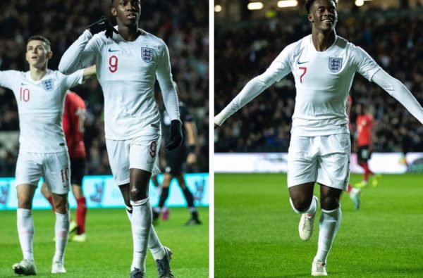 Eddie Nketiah and Callum Hudson-Odoi Ran the Show in England U21s 5-1 Victory Last Night