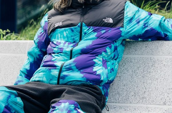 Mountain Steez Gets a Trippy Rework Courtesy of The North Face x Sneakersnstuff