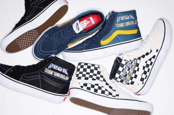 Supreme and Vans Latest Collab Invites You to Say It With Your Chest