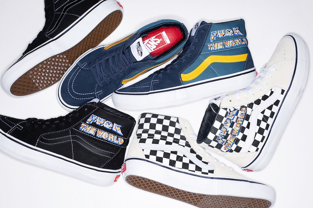Supreme and Vans Latest Collab Invites