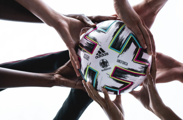 adidas Football Champions Unity and Diversity with 'Uniforia', the Official Match Ball of Euro 2020