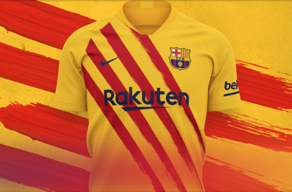 FC Barcelona Drop Bold Catalan-Inspired Fourth Jersey
