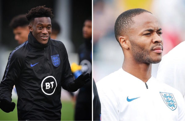 "Callum Hudson-Odoi Has Backed Raheem Sterling as a ""Big Leader"" for England's Young Players"