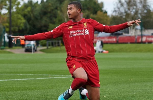 "Liverpool Are ""Open to Offers"" to Loan Out Rhian Brewster in January"
