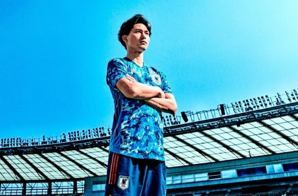 Japan's Blue-Camo 2020 adidas Home Kit is One of the Waviest Shirts Ever Made