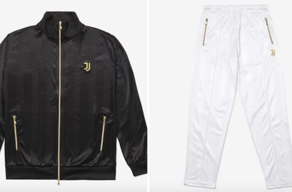 Juventus 'Icon' Tracksuits Arrive in Cold Monochrome Colourways