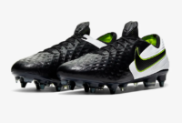 "Nike Launch Fire Tiempo Legend VIII ""Black/White/Volt"" Boot Colourway"