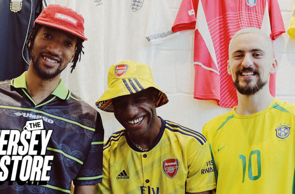 Poet & Vuj Go Shopping for the Waviest Football Shirt of All-Time in 'The Jersey Store'
