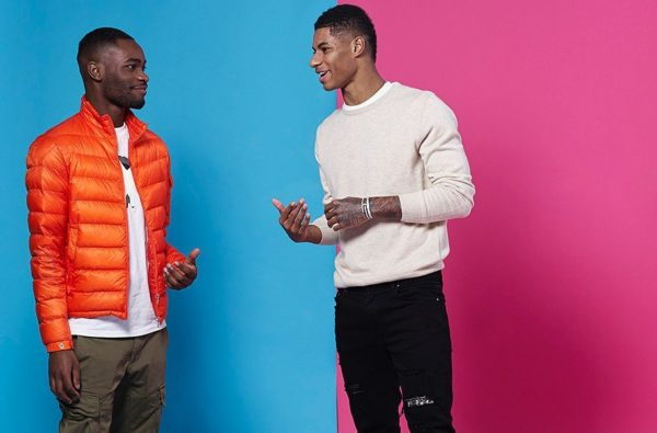 Dave and Marcus Rashford are the Cover Stars for The Guardian's Weekend Issue