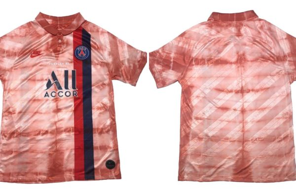 Perplex FC Transform PSG's Third Kit Into Wavey 'Blood on the Sleeves' Rework