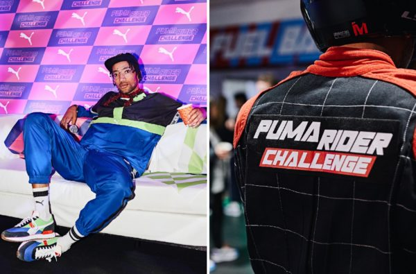 Poet and Harry Pinero Hosted the Culture's Ultimate Go-Karting Tournament to Launch the New PUMA Rider
