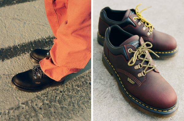 "Stüssy and Dr. Martens Link Up for Cold 8053 ""Wintergrip"" Equipped Silhouette"