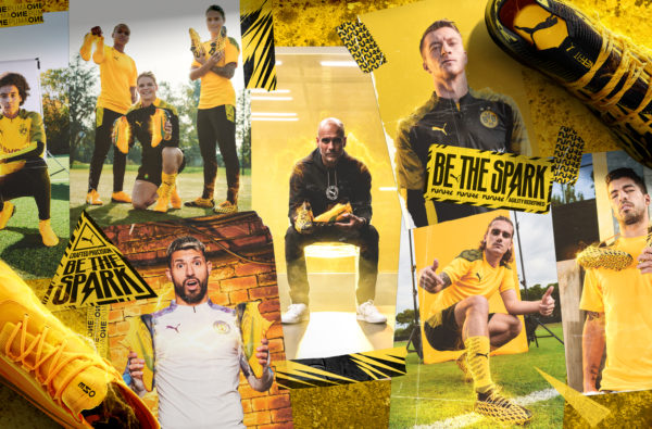 "PUMA Launch Charged-Up ""Spark Pack"" Boot Range with Pep Guardiola"
