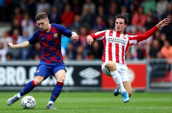 Barcelona's 16-Year-Old English Striker Louie Barry Set to Sign for Aston Villa