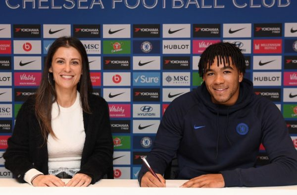 Reece James Becomes Latest Young Chelsea Baller to Sign Contract Extension