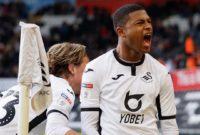 Rhian Brewster Linked up With Conor Gallagher to Score the First Goal of His Senior Career for Swansea This Weekend