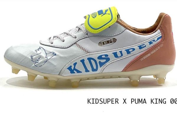 Hector Bellerin Linked up With NYC Studio KidSuper to Design Two Wavey Pairs of PUMA King Boots