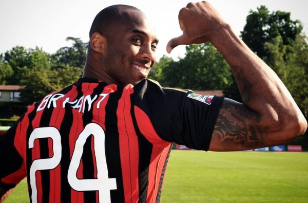 AC Milan Will Wear Black Armbands Tonight to Pay Tribute to Lifelong Supporter Kobe Bryant