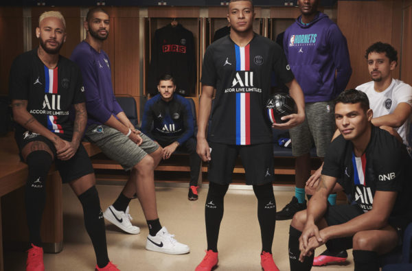 PSG and Jordan Brand Unveil the Club's Cold 19-20 Fourth Kit