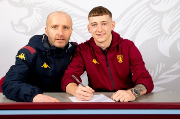 Louie Barry Signed For Aston Villa and Bagged a Goal for the U23 Side on the Same Day