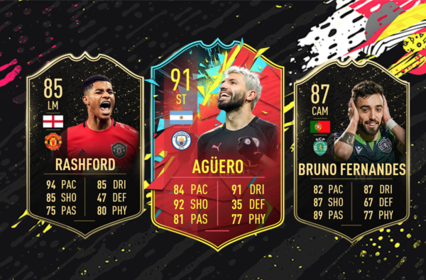 Marcus Rashford Lands an 85-Rated In-Form in Latest FIFA 20 Team Of The Week