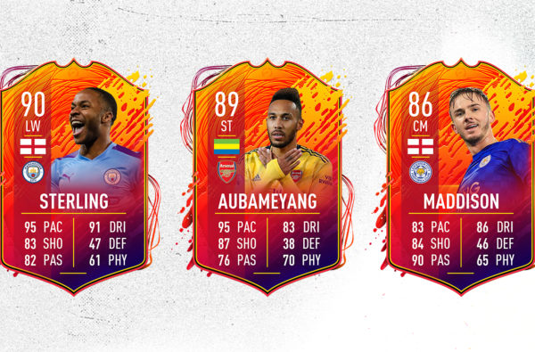James Maddison, Raheem Sterling and Pierre-Emerick Aubameyang Star in FIFA 20's Second Wave of 'Headliner' Cards
