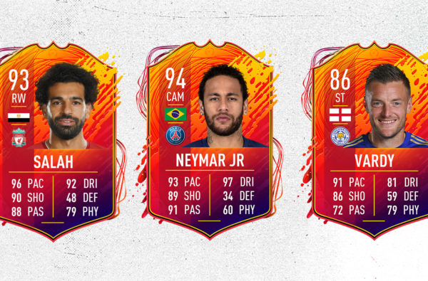 Neymar, Mo Salah and Jamie Vardy Lead FIFA 20's Supercharged Wave of 'Headliner' Cards