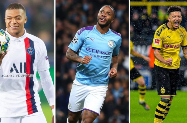 Kylian Mbappé, Raheem Sterling and Jadon Sancho Named in the Top 5 Most Valuable Players in The World