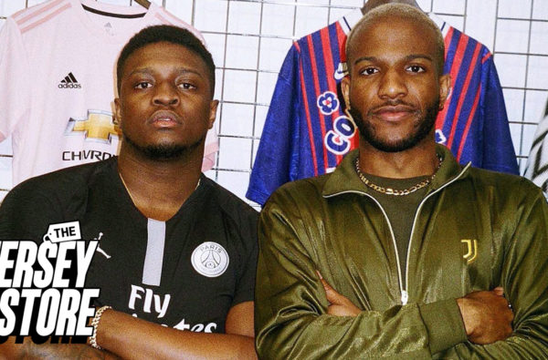 Swarmz Goes Shopping for the Waviest Football Shirt of All-Time in New Episode of 'The Jersey Store'