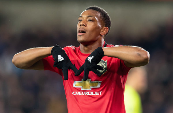 Anthony Martial Dedicated Last Night's Goal for Manchester United to Moussa Marega
