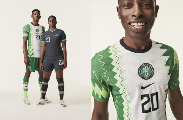 Nike and Nigeria Link up Again to Drop the Waviest Jersey of 2020
