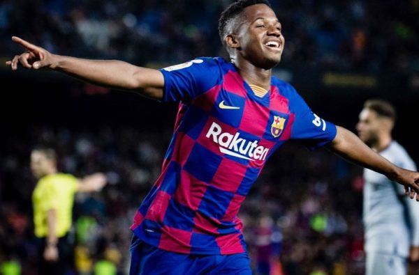 Ansu Fati Just Became the Youngest Player to Score a Brace in La Liga History