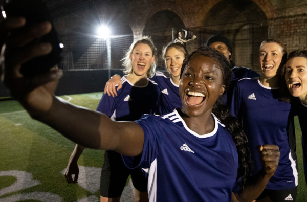 Eni Aluko Became the Latest adidas Player to Make a Surprise 'Rent-A-Pred' Appearance