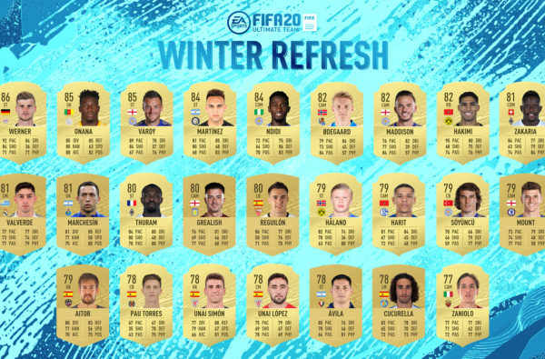 Jack Grealish, Mason Mount, Fikayo Tomori and More Get Upgrades in FIFA 20's Winter Refresh